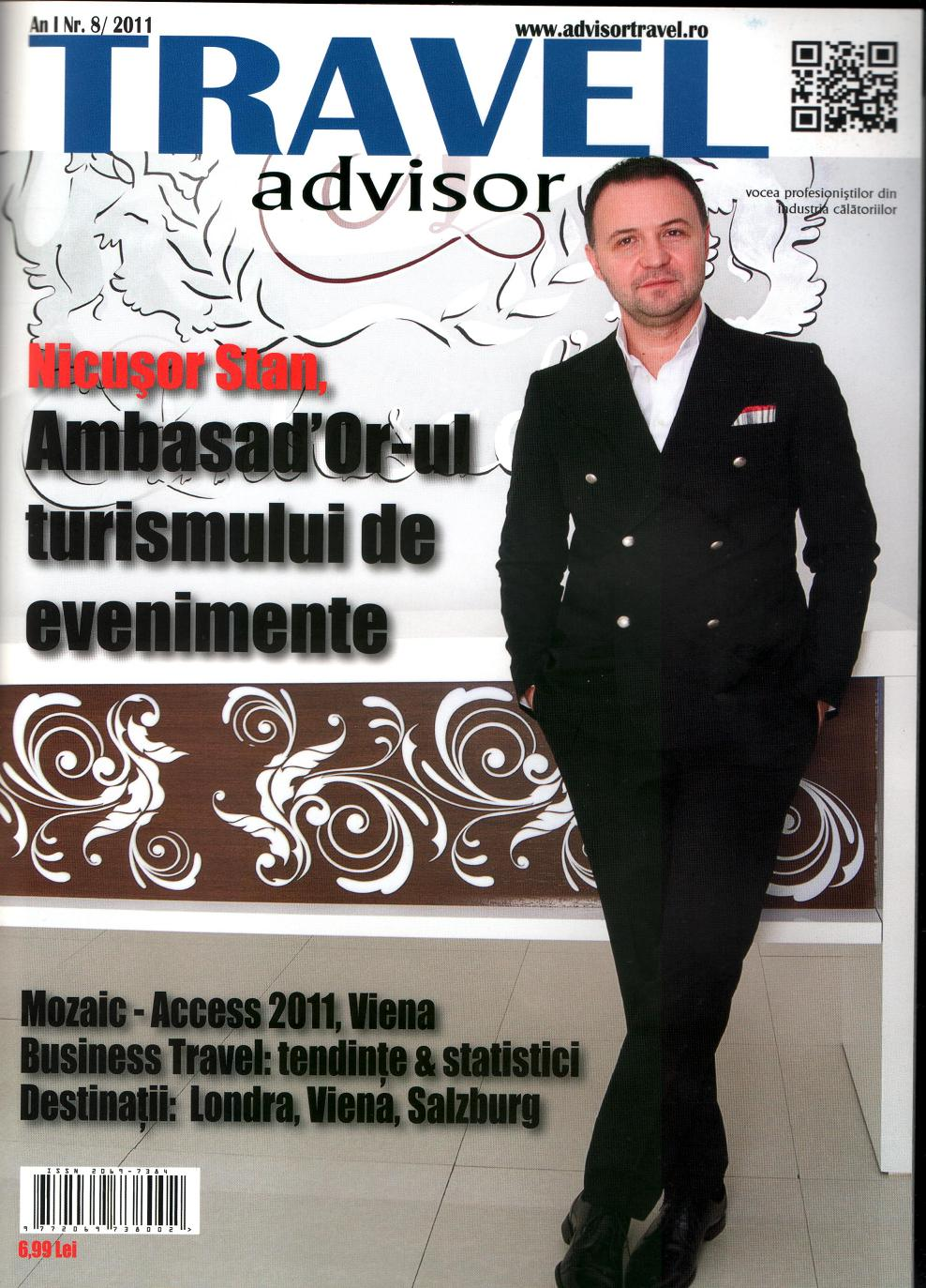 Revista de turism Travel Advisor, în reteaua Inmedio & Relay
