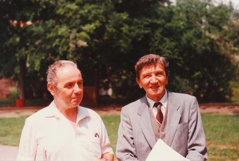 Fără titlu, fără... cuvinte - Un interviu memorabil cu Romulus Bărbulescu şi George Anania