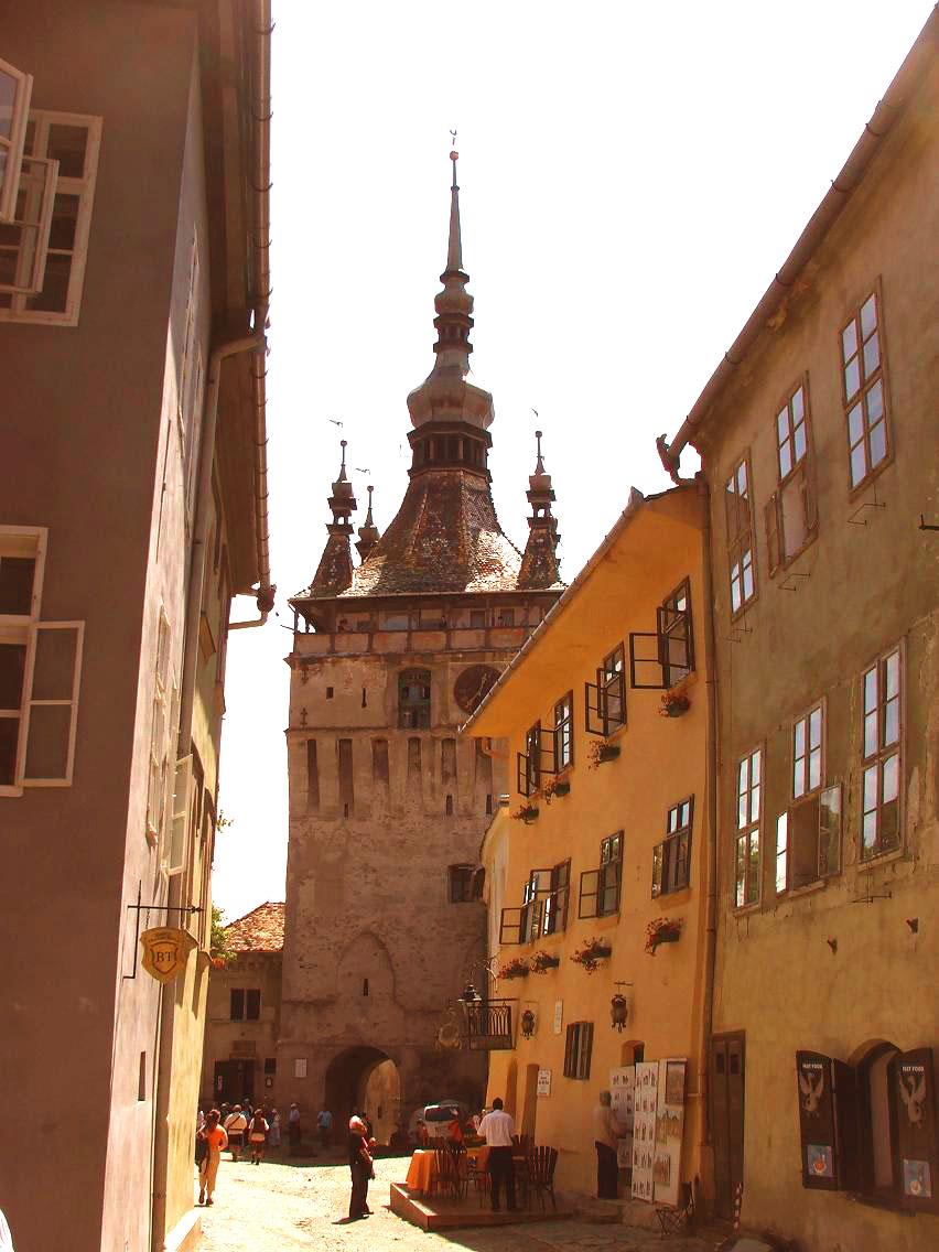 Turnul cu ceas din Sighişoara (România – o fotografie şi o poveste / 44)