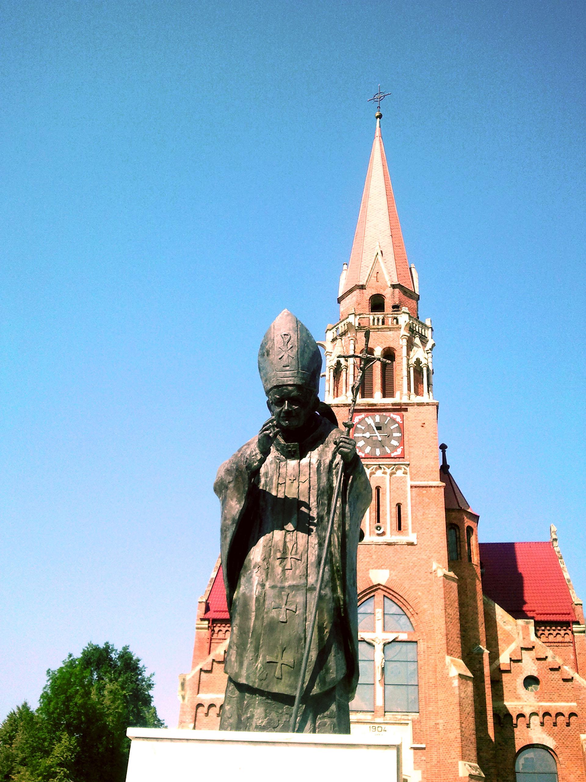 Cacica - Biserica Romano-Catolică (România – o fotografie şi o poveste / 47)