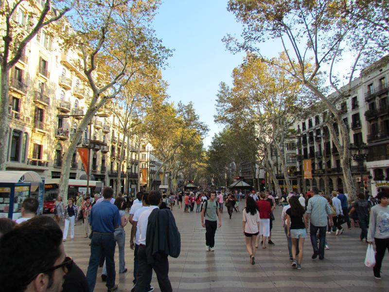 Zile de vis în Barcelona - 6