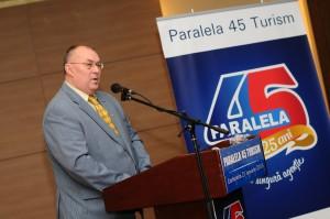 Scriitorul şi jurnalistul de turism Marian Constantinescu