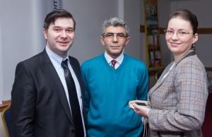 Alături de Mehrab Asgari, director general Air Business Travel şi de Sînziana Constantinescu, ghid naţional de turism şi formator de ghizi