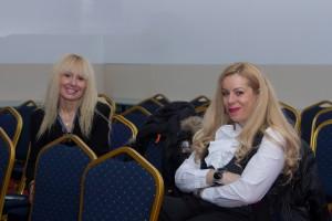 Cristina Hadid, ghid de turism şi Raluca Repanovici, managing partner Innovation Travel