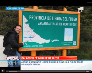 3 aventuri cu zambet de Adrian Taracila, calator in peste 100 de tari