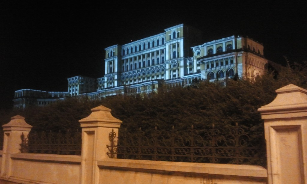 The Palace of Parliament - the biggest administrative civil building in the world