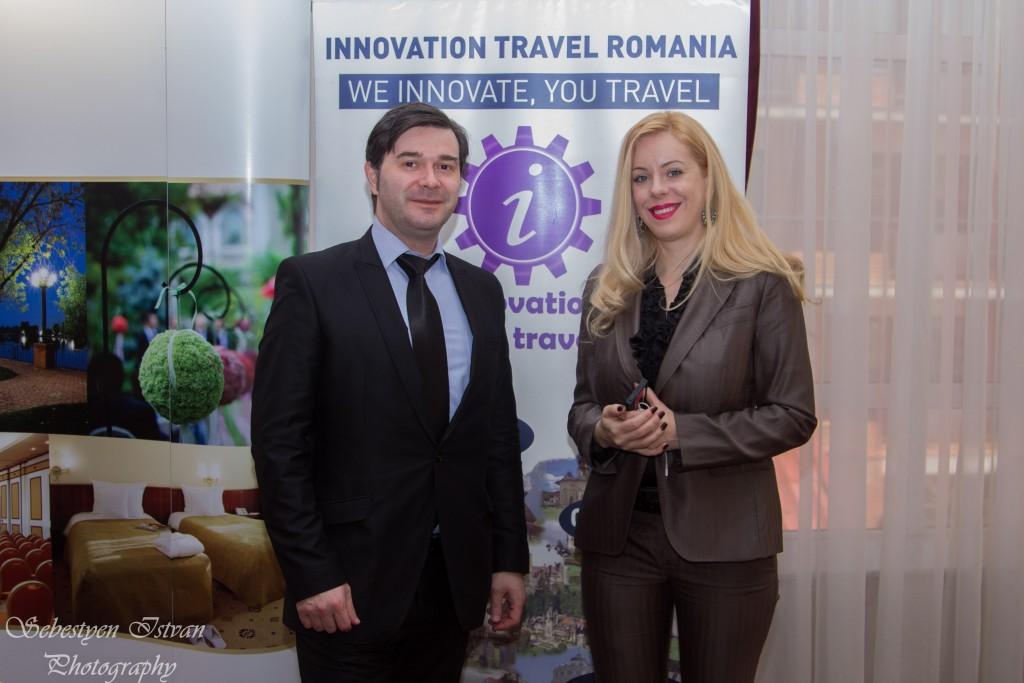 Innovation Travel: Raluca Repanovici şi Traian Badulescu