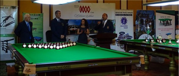 Ceremonia de deschidere a Campionatului Mondial de Snooker Under 21
