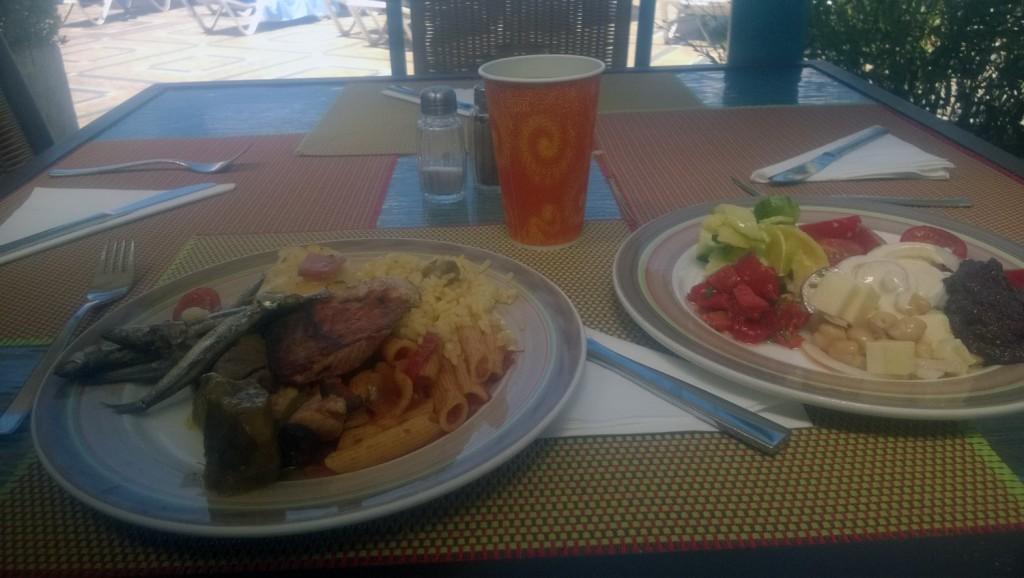 Grecii stau bine ca întotdeauna cu partea culinară...