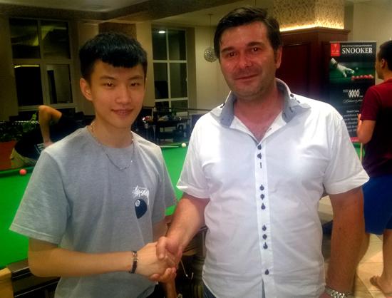 Alături de chinezul Zhao Xintong care, la doar 15 ani, a realizat break-ul record al campionatului, de 145!
