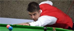 Jamie Clarke din Ţara Galilor, recordmanul unui break de 135 de puncte in prima zi a competiţiei