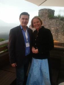 Alaturi de Petra Stolba, CEO al Oficiului National de Turism al Austriei, deci sefa turismului austriac