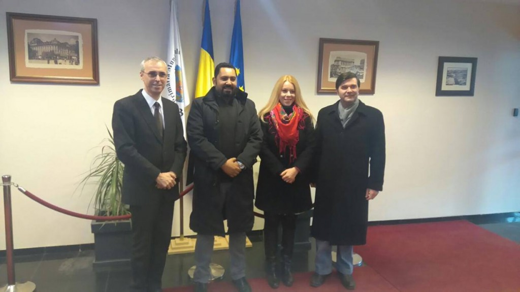 Al Majid and Innovation at the Municipality of Bucharest, with Mr. Cătălin Grosu (left), that Director of International Relations and Protocol