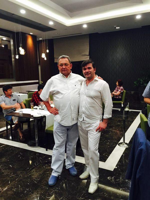 Alături de Alin Burcea, preşedintele Paralela 45, la resortul Regnum Calya din Belek - Antalya