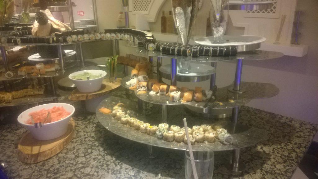 Bufet sushi la Gural Tekirova din Kemer