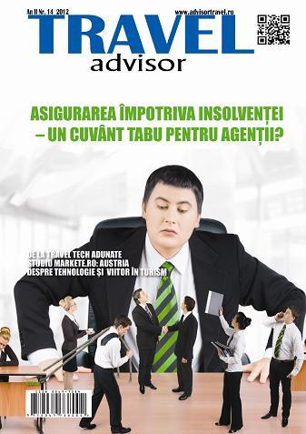 Revista Travel Advisor nr. 14, lansată la Târgul de Turism de la ROMEXPO