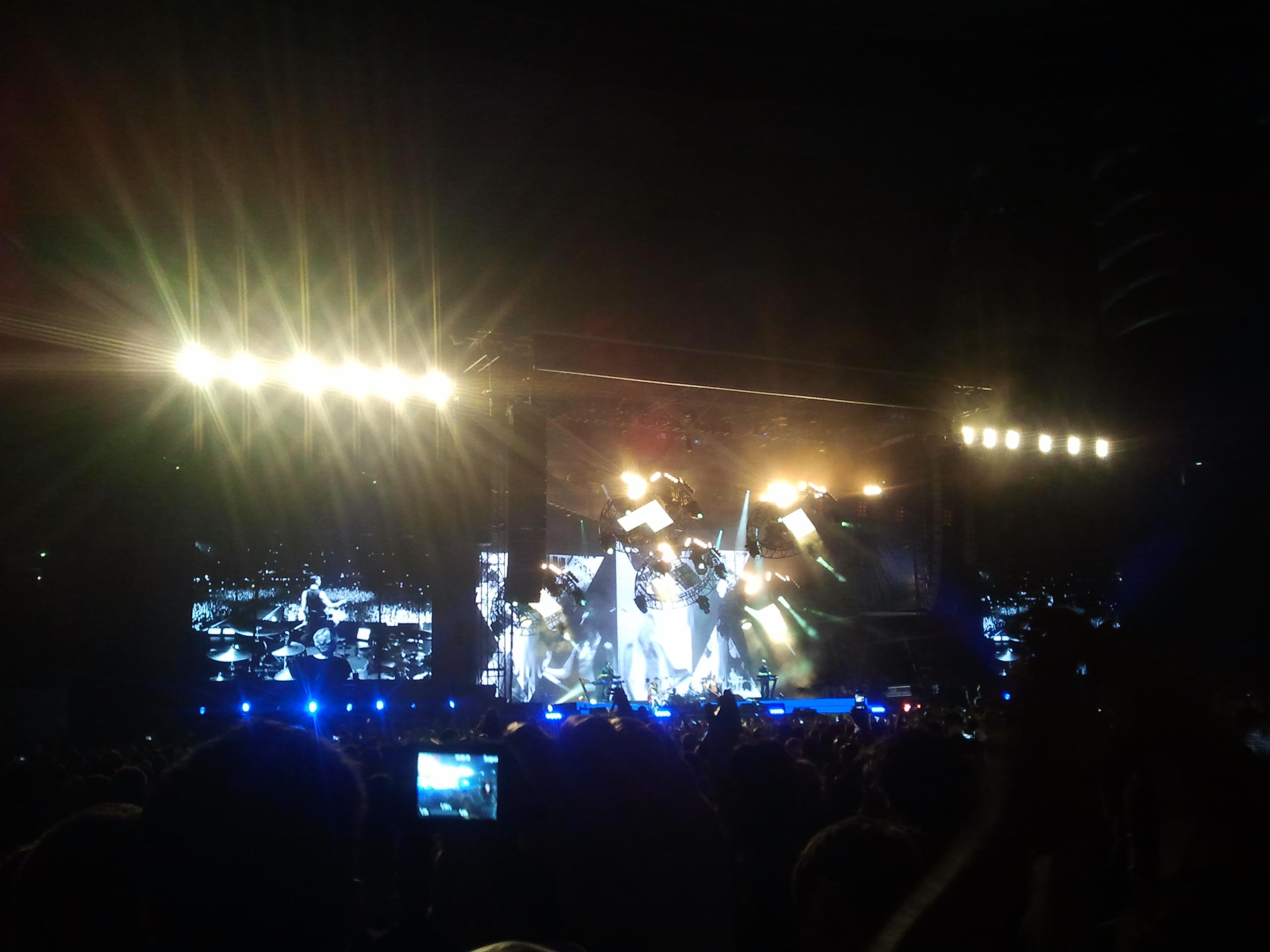 Depeche Mode, Bucureşti, National Arena - Un concert extraordinar