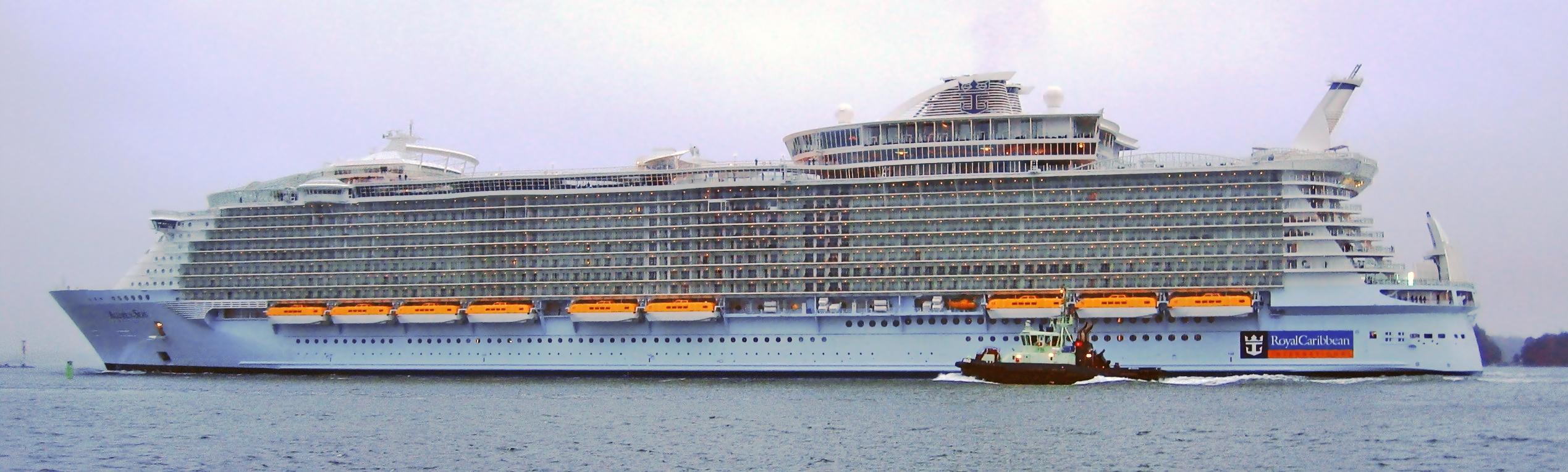 Allure of The Seas va fi pozitionat in Europa