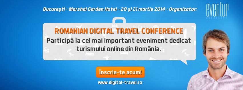 Romanian Digital Travel Conference – cel mai important eveniment dedicat turismului online din România