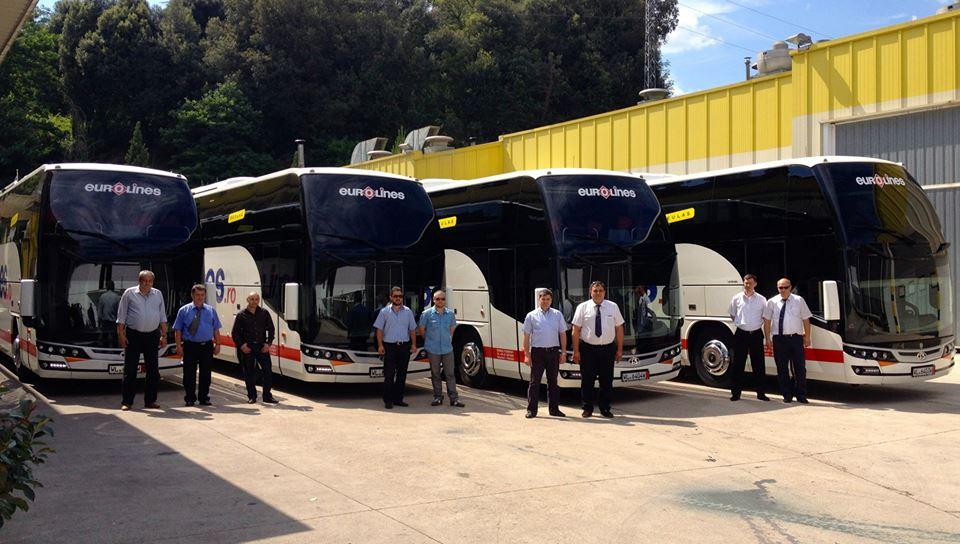 Eurolines îşi măreşte flota: 8 autocare Scania cu business class şi wireless