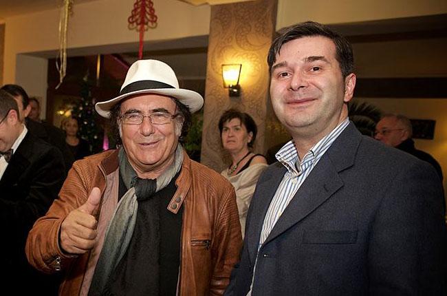 La Trattoria Felicita cu Al Bano şi vinurile Villa Carrisi