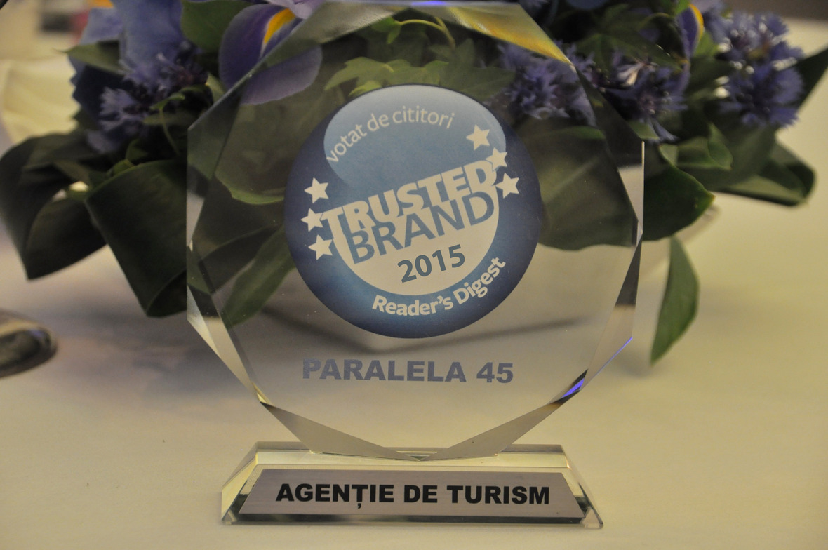 Paralela 45: The most trusted brand 2015