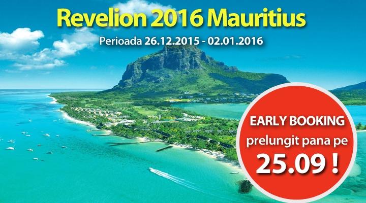 Revelion în Mauritius via Paralela 45