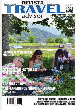 Revista Travel Advisor a ajuns la nr. 45. Ne pregătim de aniversare: 5 ani, 50 ediţii