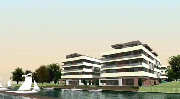 Acum puteţi cumpăra apartamente în singurul complex de pe malul Lacului Snagov